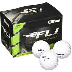 Wilson F.L.I. Golf Balls - Best Golf Ball for Beginners